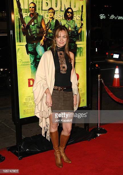 Diane Farr during New Line Cinema's 'Domino' Los Angeles Premiere Arrivals at Grauman's Chinese Theater in Hollywood California United States