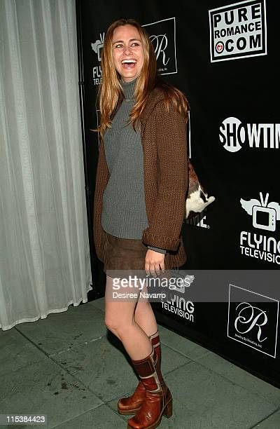 Diane Farr during Premiere Party for Mario Cantone's 'Laugh Whore' on Showtime at The Garden of Ono in New York City New York United States