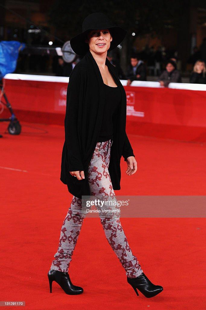 Diane Fleri attends the Officine Artistiche during the 6th International Rome Film Festival at Auditorium Parco Della Musica on November 3, 2011 in Rome, Italy.