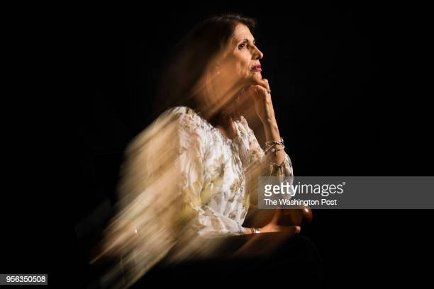 Diane Foley mother of James Foley the journalist killed by ISIS in 2014 poses for a portrait in her office at the James W Foley Legacy Foundation in...