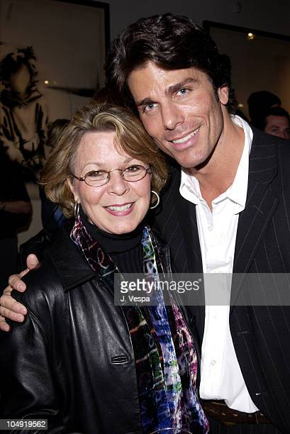Diane Footlick Greg Lauren during Greg Lauren Art Show Opening at Stricoff Fine Art Gallery in New York City New York United States