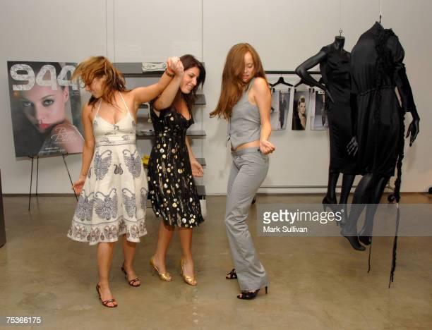 Diane Gaeta Jessica Meisels and Bijou Phillips