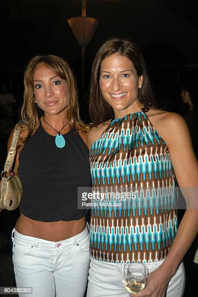 Diane Gerardi and Melissa Gerardi attend Cocktail Party With Steven Schonfeld Celebrating Mindy Greenblatt's Birthday at Watermill on August 19 2006