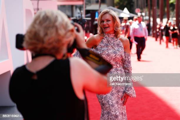 Diane Glasson arrives for the 31st Annual ARIA Awards 2017 at The Star on November 28 2017 in Sydney Australia