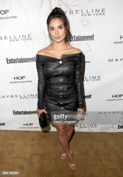 Diane Guerrero attends Entertainment Weekly's Screen Actors Guild Award Nominees Celebration sponsored by Maybelline New York at Chateau Marmont on...