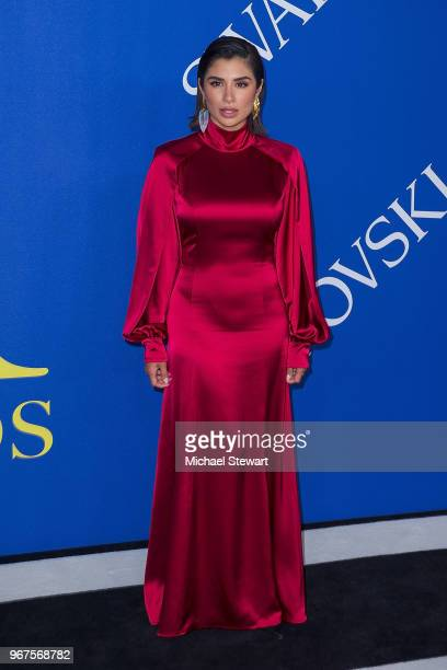 Diane Guerrero attends the 2018 CFDA Fashion Awards at Brooklyn Museum on June 4 2018 in New York City