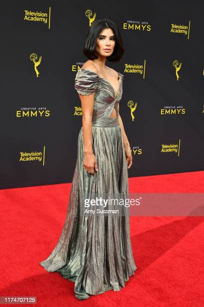 Diane Guerrero attends the 2019 Creative Arts Emmy Awards on September 14 2019 in Los Angeles California