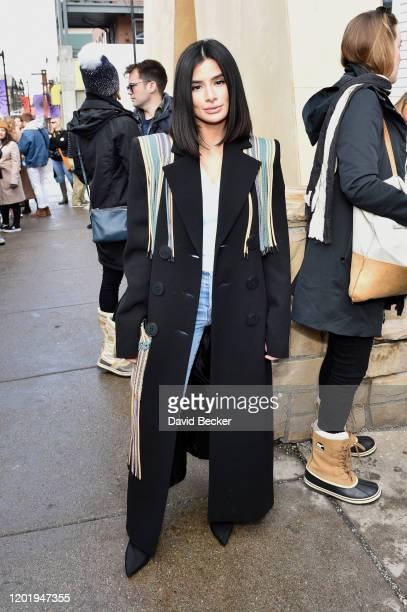 Diane Guerrero attends the 2020 Sundance Film Festival on January 25, 2020 in Park City, Utah.