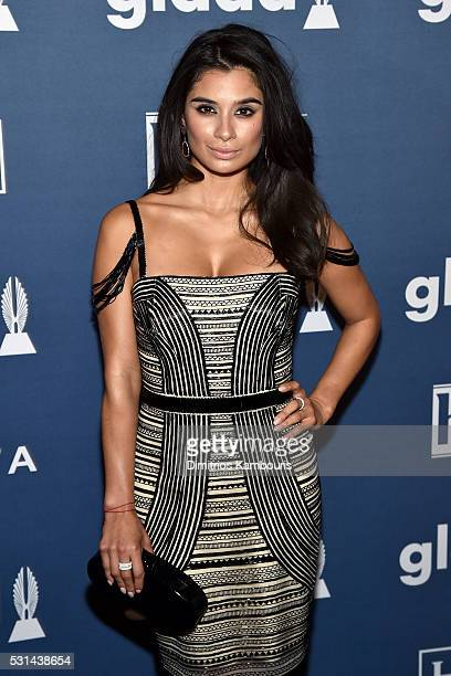 Diane Guerrero attends the 27th Annual GLAAD Media Awards in New York on May 14 2016 in New York City