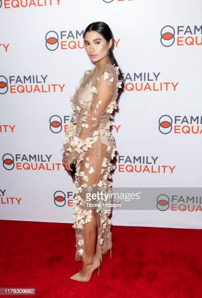 Diane Guerrero attends the Family Equality Los Angeles Impact Awards 2019 at a Private Residence on October 05 2019 in Los Angeles California