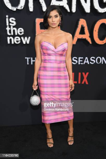 Diane Guerrero attends the Orange Is The New Black Final Season World Premiere at Alice Tully Hall Lincoln Center on July 25 2019 in New York City