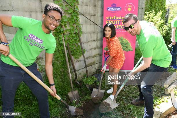 Diane Guerrero attends vitafusion™ Fruit Tree Planting Project on May 16 2019 in Brooklyn New York