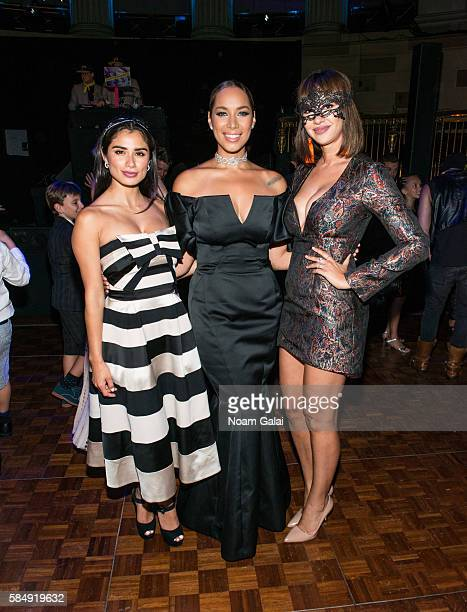 Diane Guerrero Leona Lewis and Jackie Cruz attend the after party for the firstever revival of Andrew Lloyd Webber's iconic CATS on Broadway on July...