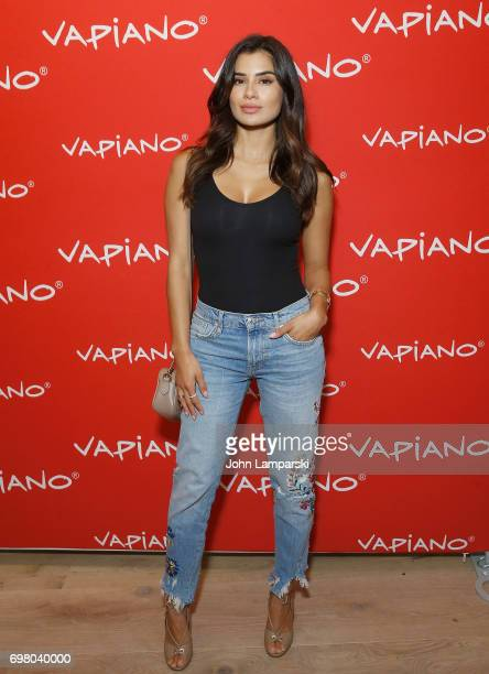 Diane Guerreros attend Vapiano Grand ReLaunch Party at Vapiano on June 19 2017 in New York City