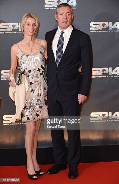 Diane Hastings and Gavin Hastings attend the BBC Sports Personality of the Year awards at The Hydro on December 14 2014 in Glasgow Scotland