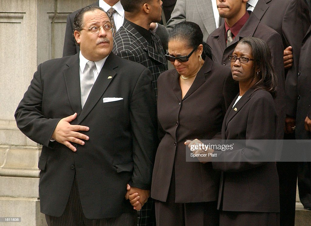 Funeral for Aaliyah in New York : News Photo