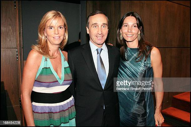Diane Hottinguer Francois Curiel and Ariane Poniatowski at 'Art Toy' Benefit Auction At Christie's For Association 'Paris Tout P'Tits'