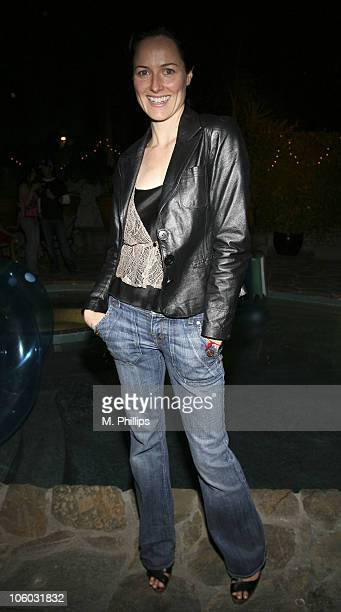 Diane Hudock during Last Chance for Animals Fundraiser at Private in Beverly Hills CA United States