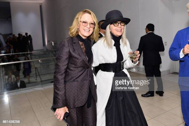 Diane Keaton and Ann Philbin at the Hammer Museum 15th Annual Gala in the Garden with Generous Support from Bottega Veneta on October 14 2017 in Los...