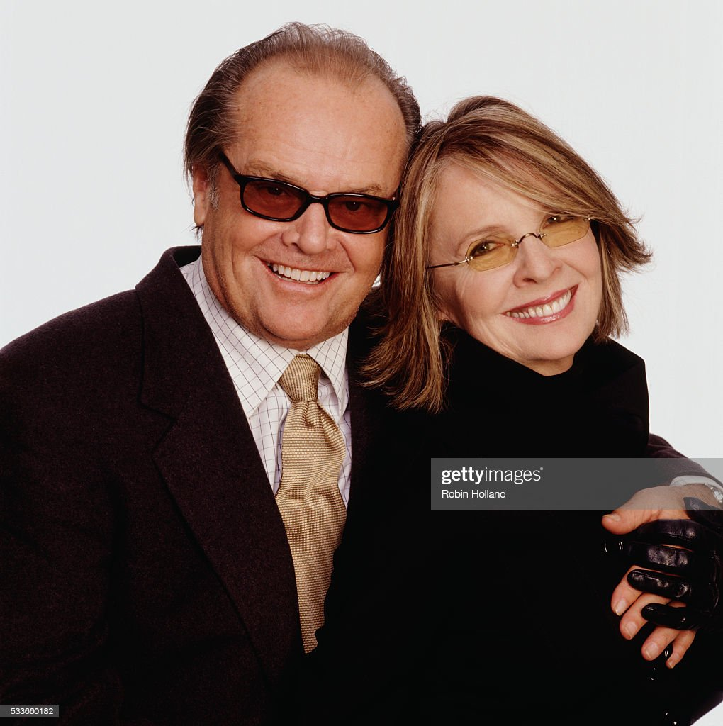 Jack Nicholson and Diane Keaton, USA Today, 2003 : News Photo