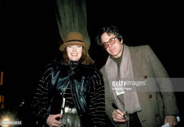 Diane Keaton and Warren Beatty circa 1988 in New York
