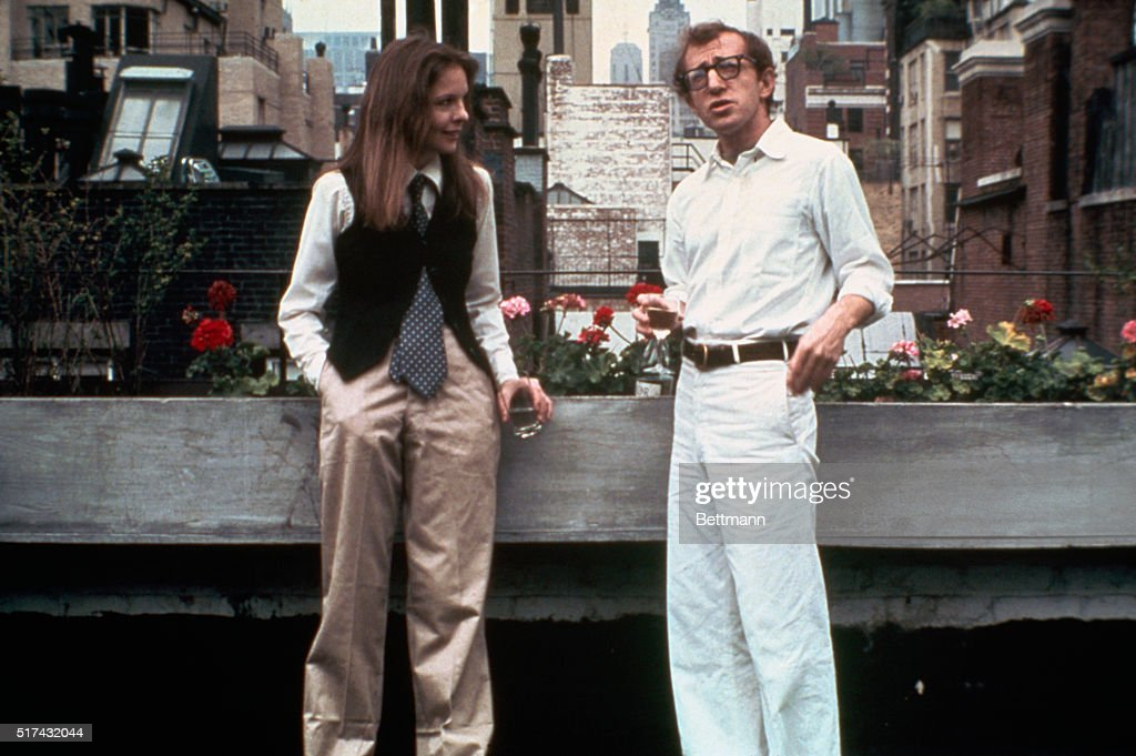Woody Allen and Diane Keaton in Annie Hall : News Photo
