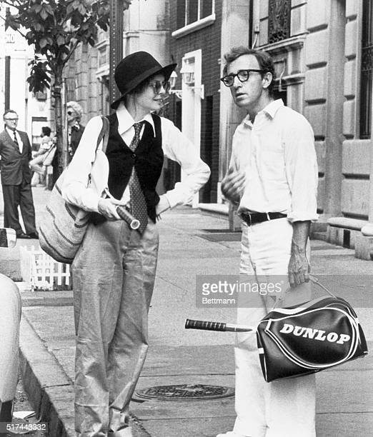 Diane Keaton and Woody Allen in the film Annie Hall