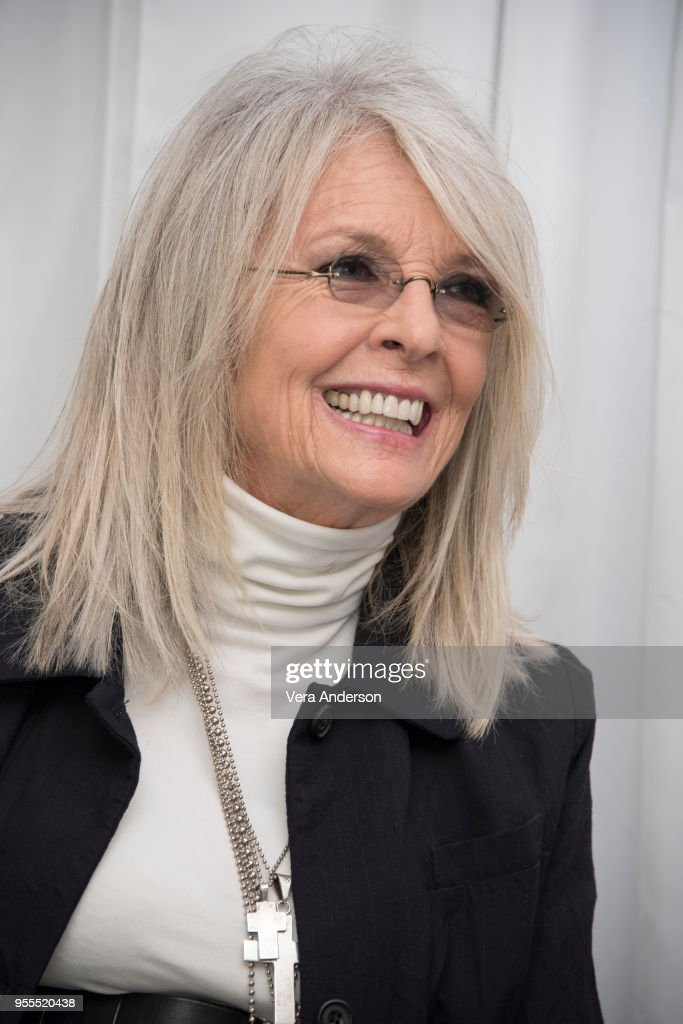 Diane Keaton at the 'Book Club' Press Conference at The W Hotel on May 6, 2018 in Westwood, California.