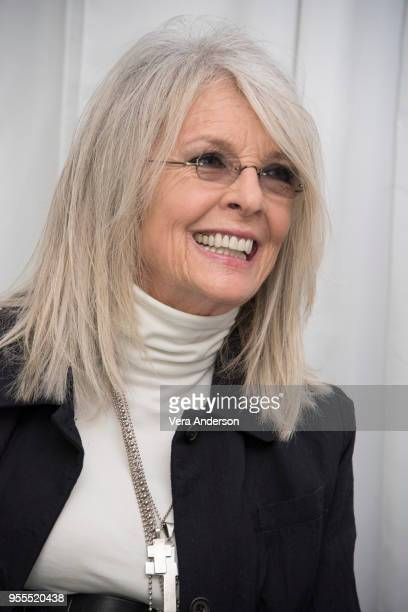 Diane Keaton at the Book Club Press Conference at The W Hotel on May 6 2018 in Westwood California