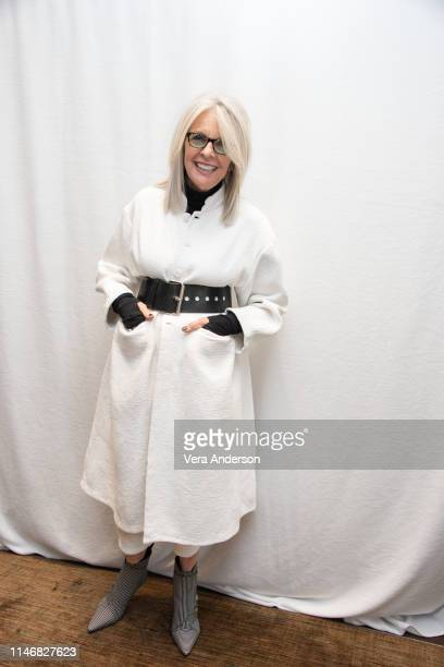 Diane Keaton at the Poms Press Conference at the Four Seasons Hotel on May 02 2019 in Beverly Hills California