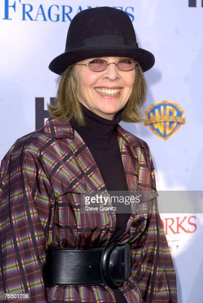 Diane Keaton at the Wadsworth Theatre in Westwood California