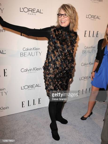 Diane Keaton attends ELLE's 17th Annual Women In Hollywood Tribute at The Four Seasons Hotel on October 18 2010 in Beverly Hills California
