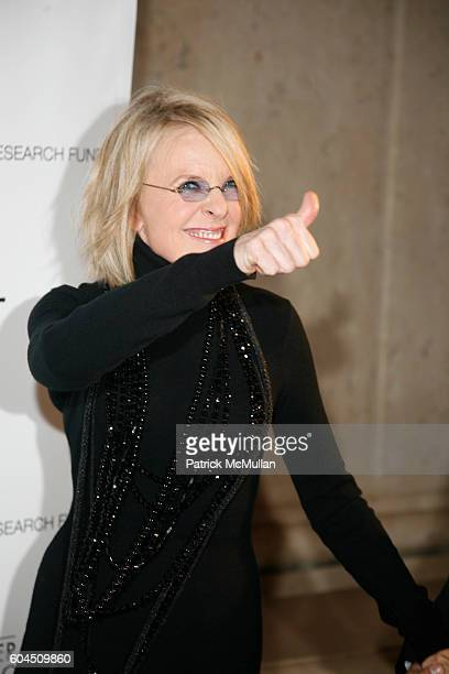 Diane Keaton attends L'OREAL Legends Gala Benefiting The Ovarian Cancer Research Fund at The American Museum Of Natural History on November 8 2006