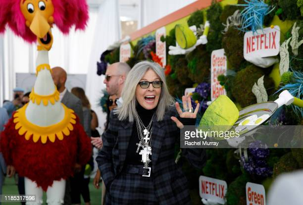 Diane Keaton attends Netflix 'Green Eggs Ham' Los Angeles Premiere at Post 43 on November 03 2019 in Los Angeles California