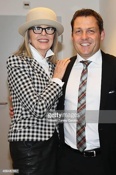 Diane Keaton attends the 'Film Musik Wettbewerb' Dinner during Day 7 of Zurich Film Festival 2014 on October 1 2014 in Zurich Switzerland