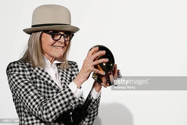 Diane Keaton attends the Golden Icon Award Ceremony during Day7 of Zurich Film Festival 2014 on October 1 2014 in Zurich Switzerland