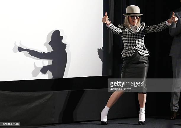 Diane Keaton attends the Golden Icon Award Ceremony during Day7 of Zurich Film Festival 2014 on October 1 2014 in Zurich Switzerland