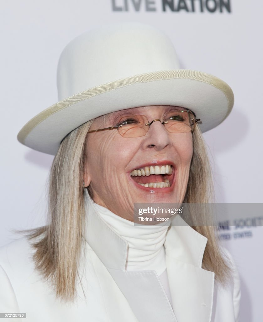 Diane Keaton attends the Humane Society's annual 'To The Rescue' Gala on April 22, 2017 in Los Angeles, California.