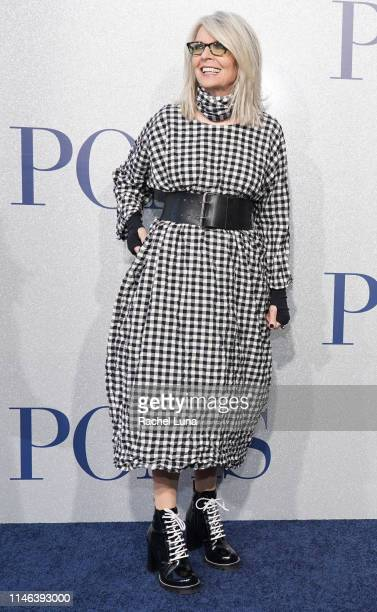 Diane Keaton attends the premiere of STX's Poms at Regal LA Live on May 1 2019 in Los Angeles California
