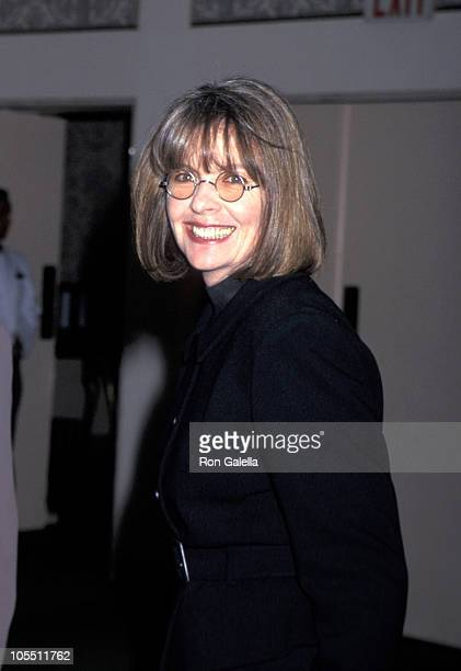 Diane Keaton during 1995 Muse Awards December 14 1995 at New York Hilton Hotel in New York City New York United States