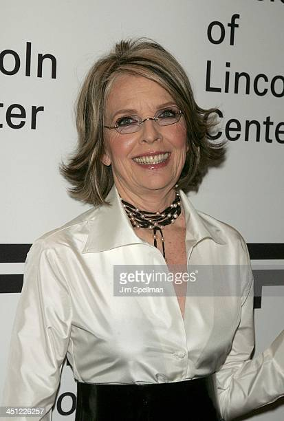 Diane Keaton during Film Society of Lincoln Center's 34th Annual Gala Tribute to Diane Keaton Greenroom