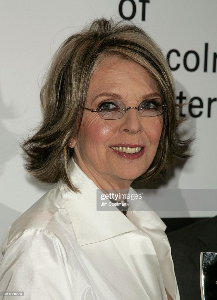 Film Society of Lincoln Center's 34th Annual Gala Tribute to Diane Keaton - Greenroom : News Photo