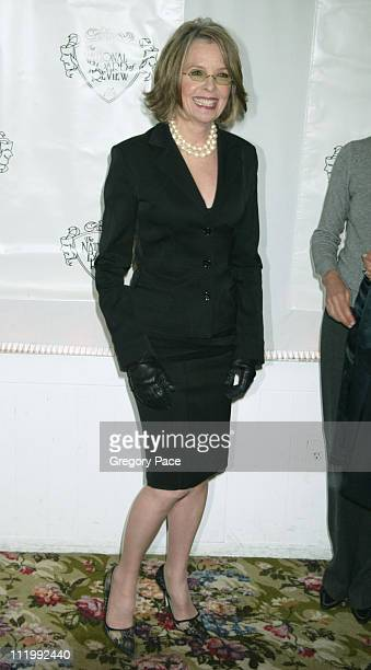 Diane Keaton during The 2003 National Board of Review of Motion Pictures Annual Awards Gala at Tavern on the Green in New York City New York United...