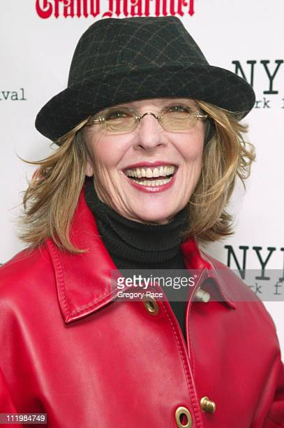 Diane Keaton executive producer of the film during The 41st Annual New York Film Festival Screening of Elephant at Alice Tully Hall Lincoln Center in...