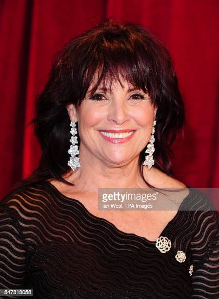 Diane Keen arriving for the 2012 British Soap Awards at