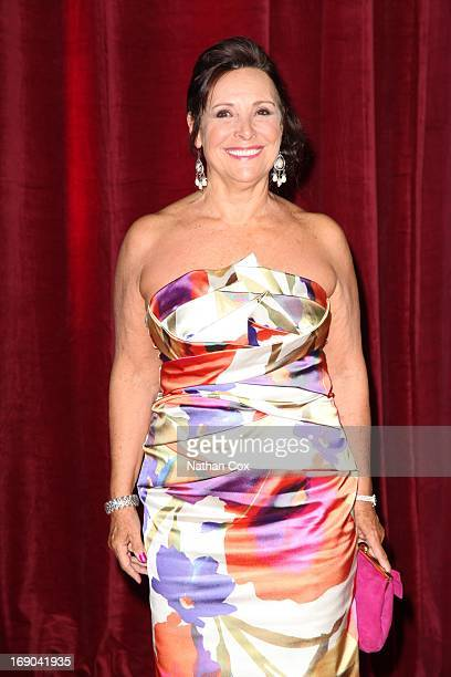 Diane Keen attends The British Soap Awards 2013 at Media City on May 18 2013 in Manchester England
