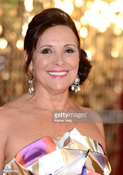 Diane Keen attends the British Soap Awards at Media City on May 18 2013 in Manchester England