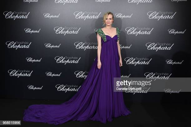 Diane Kruger Actress attends the Chopard Trophy during the 71st annual Cannes Film Festival at Martinez Hotel on May 14 2018 in Cannes France