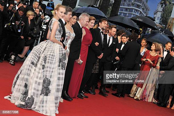 Diane Kruger Alexander Payne Hiam Abass JeanPaul Gaultier Emmanuelle Devos and Nanni Moretti at the Closing Ceremony and the premiere for 'Therese...