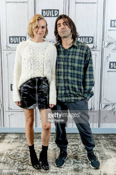 Diane Kruger and Fatih Akin discuss 'In The Fade' with the Build Series at Build Studio on December 5 2017 in New York City